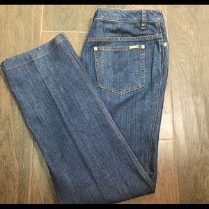 St. John Sport Blue Straight Leg Denim Jeans 12